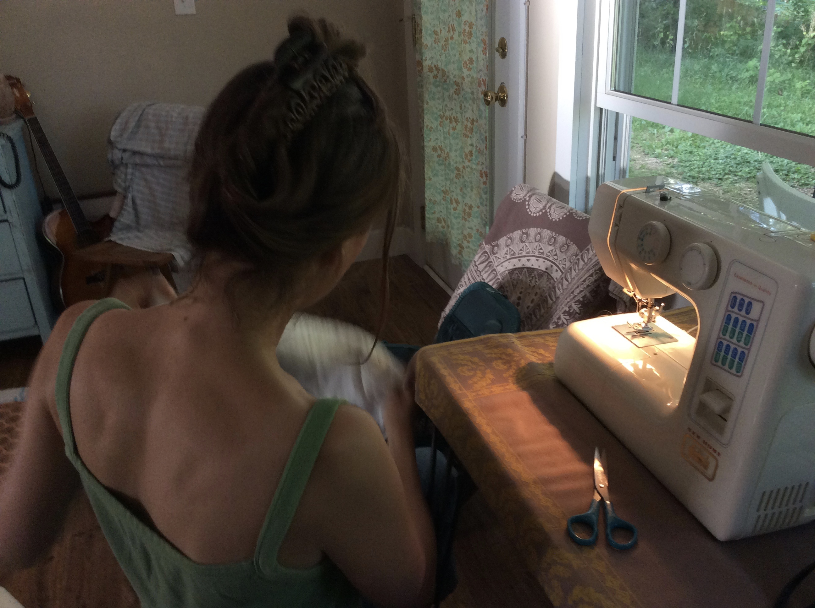 meditative sewing